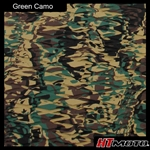 Cut Diamond Groove - Green Camo