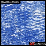 Cut Diamond Groove - Royal Blue Marble