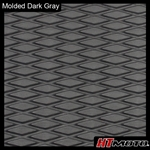 Molded Diamond Groove - Dark Gray