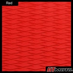 Cut Diamond Groove - Red